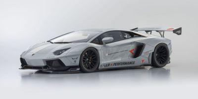 KYOSHO ORIGINAL 1/12scale LB★WORKS Aventador Matte Gray  [No.KSR12502MG]
