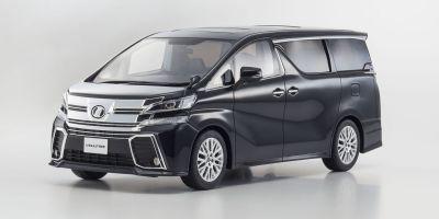SAMURAI 1/18scale Toyota VELLFIRE 3.5 ZA G Edtition Black [No.KSR18011BK]