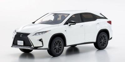 SAMURAI 1/18scale Lexus RX 200t F Sport White  [No.KSR18014W]