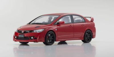 SAMURAI 1/18scale Honda Civic Mugen RR (Red) KSR18038R