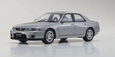 SAMURAI 1/18scale Nissan Skyline GT-R Autech Version Silver  [No.KSR18041S]