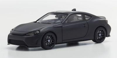 KYOSHO 1/43scale Toyota 86 style J Matte Black [No.KSR43001MBK]