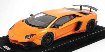 MR Collection 1/18scale Lamborghini Aventador LP 750-4 Superveloce Arancio Orange [No.LAMBO019C]