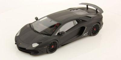 MR Collection 1/18scale Lamborghini Aventador LP750-4 Superveloce Matte Black  [No.LAMBO019G]