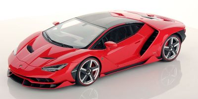 MR Collection 1/18scale Lamborghini Centenario Rosso Mars Red  [No.LAMBO023D]