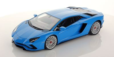 MR Collection 1/18scale Lamborghini Aventador S Blu Nila  [No.LAMBO027G]