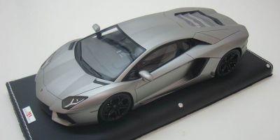 MR Collection 1/18scale Lamborghini Aventador LP700-4 (GRIGIO ANTARES MATT) MAT GREY [No.LAMBO06H]