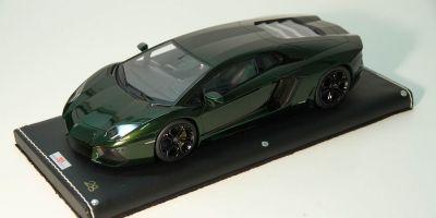 MR Collection 1/18scale Lamborghini Aventador LP700-4 (VERDE PSYCHE) GREEN [No.LAMBO06F]