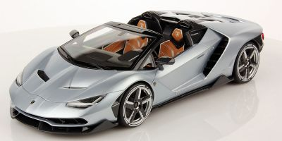 MR Collection 1/18scale Lamborghini Centenario Roadster Argento Centenario (Silver)  [No.LAMBO025A]