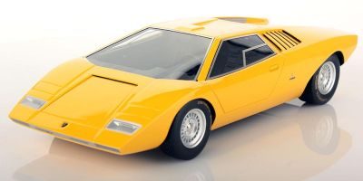LOOKSMART 1/18scale Lamborghini Countach LP500 Prototype (Yellow)  [No.LSCOPT]