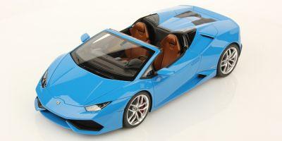MR Collection 1/18scale Lamborghini Huracan LP 610-4 Spyder Blu LeMans [No.LAMBO020A]