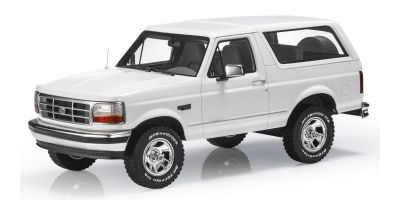 TOPMARQUES 1/18scale Ford Bronco 1992 White  [No.TOPLS055A]