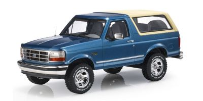 TOPMARQUES 1/18scale Ford Bronco 1992 Blue / Beige  [No.TOPLS055B]