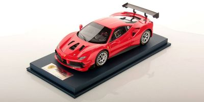 LOOKSMART 1/18scale Ferrari 488 Challenge ROSSO CORSA (Red)  [No.LS18RC010B]