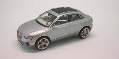 LOOKSMART 1/43scale Audi Cross Coupe Silver [No.LS347]