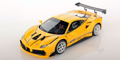 LOOKSMART 1/43scale Ferrari 488 Challenge GIALLO MODENA (Yellow)  [No.LS476A]