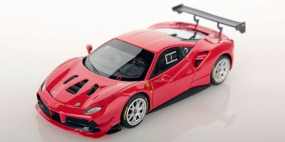 LOOKSMART 1/43scale Ferrari 488 challenge ROSSO CORSA (red)  [No.LS476B]