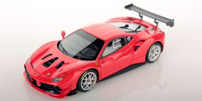 LOOKSMART 1/43scale Ferrari 488 Challenge ROSSO SCUDERIA (Orange Red)  [No.LS476C]