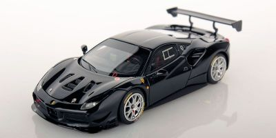 LOOKSMART 1/43scale Ferrari 488 Challenge NERO DS 1250 (Black)  [No.LS476D]