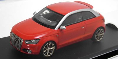 LOOKSMART 1/43scale Audi A1 Metro Project Concept Red [No.LSAUDIA1]