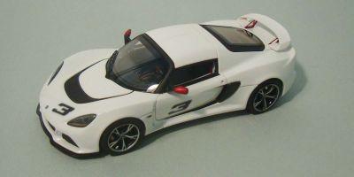 LOOKSMART 1/43scale Lotus Exige S Ice White [No.LSLT01A]