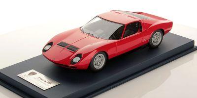 LOOKSMART 1/18scale Lamborghini Miura P 400 Paris Motor Show 1966  [No.LSMH02]