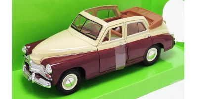 LUCKY DIE CAST 1/24scale GAZ M20 Pobeda WHITE [No.LUC24215WB]