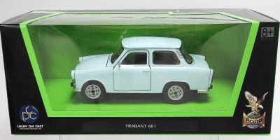 LUCKY DIE CAST 1/24scale Trabant 601 LIGHT BLUE [No.LUC24216LB]