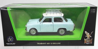 LUCKY DIE CAST 1/24scale Trabant 601 S Deluxe LIGHT BLUE [No.LUC24217LB]
