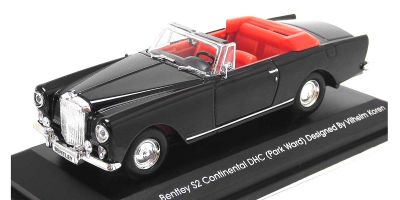 LUCKY DIE CAST 1/43scale 1961 Bentley S2 Continental DHC (Park Ward) BLACK [No.LUC43214BK]