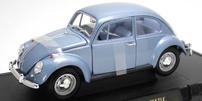 LUCKY DIE CAST 1/18scale 1967 VWビートル ダークブルー [No.LUC92078DBL]