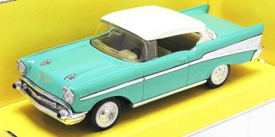 LUCKY DIE CAST 1/43scale 1957 Chevrolet Bel Air GREEN [No.LUC94201GR]