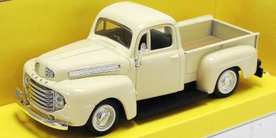 LUCKY DIE CAST 1/43scale 1948 Ford F-1 Pick Up CREAM [No.LUC94212CR]