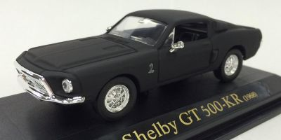LUCKY DIE CAST 1/43scale 1968 Shelby GT-500KR Matt Black [No.LUC94214B]
