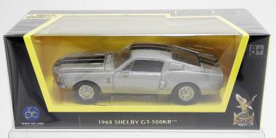 LUCKY DIE CAST 1/43scale 1968 Shelby GT-500KR SILVER [No.LUC94214S]