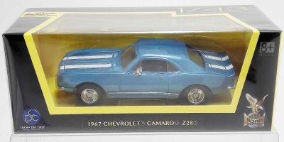 LUCKY DIE CAST 1/43scale 1967 Chevrolet Camaro Z-28 METALLIC BLUE [No.LUC94216BL]
