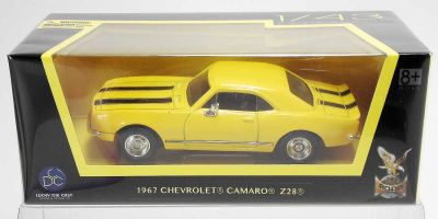 LUCKY DIE CAST 1/43scale 1967 Chevrolet Camaro Z-28 YELLOW [No.LUC94216Y]