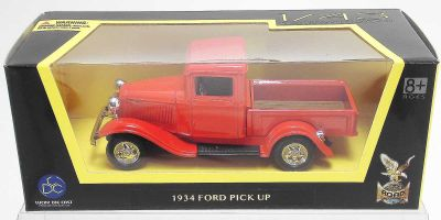 LUCKY DIE CAST 1/43scale 1934 Ford Pick Up RED [No.LUC94232R]