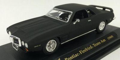LUCKY DIE CAST 1/43scale 1969 Pontiac Firebird Trans Am Matt Black [No.LUC94238B]