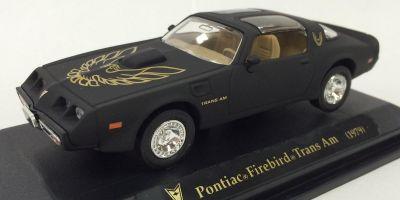 LUCKY DIE CAST 1/43scale 1979 Pontiac Firebird Trans Am Matt Black [No.LUC94239B]