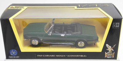 LUCKY DIE CAST 1/43scale 1969 Corvair Monza GREEN [No.LUC94241GR]