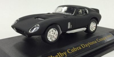 LUCKY DIE CAST 1/43scale 1965 Shelby Cobra Daytona Coupe Matt Black [No.LUC94242B]