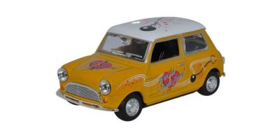 "OXFORD 1/43scale Mini Cooper  Yellow  ""Just Divorced""  [No.OXMIN022]"