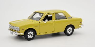 MAISTO 1/24scale 1971 Datsun 510 (Yellow)  [No.MS31518Y]