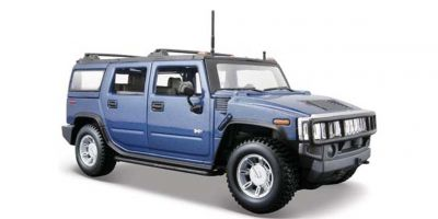 MAISTO 1/27scale Hummer H2 MT Blue  [No.MS31231MB]