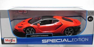 MAISTO 1/18scale Lamborghini Centenario Metallic Red  [No.MS31386MR]