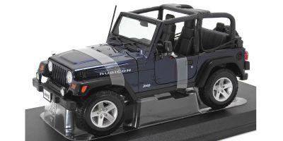 MAISTO 1/18scale Jeep Wrangler Rubicon (Metallic Blue)  [No.MS31663MB]