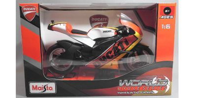 MAISTO 1/6scale Ducati motorcycle (Yellow)  [No.MS32226Y]