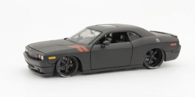 MAISTO 1/24scale 2008 Dodge Challenger (Flat Black)  [No.MS32529FBK]