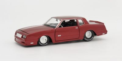 MAISTO 1/24scale 1986 Chevrolet Monte Carlo SS (Metallic Dark Red)  [No.MS32530MTR]